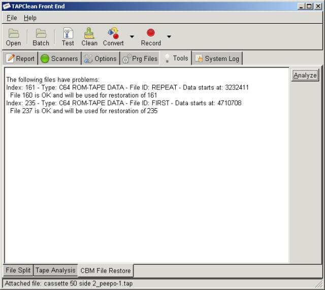 CBM File Restore tool