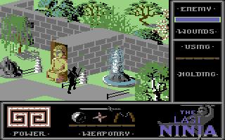 The Last Ninja - End location of level 3