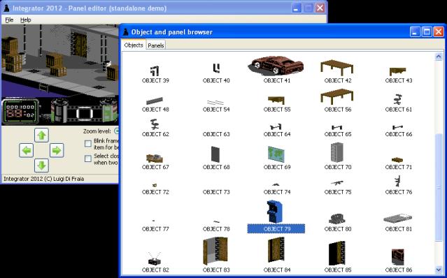 Integrator 2012 for Vendetta - Standalone panel editor application by Luigi Di Fraia