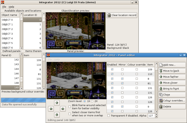 Integrator 2012 for LN3 - Linux build by Luigi Di Fraia