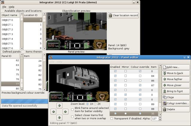 Integrator 2012 for Vendetta - Linux build by Luigi Di Fraia