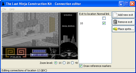 The Last Ninja Construction Toolkit: connection editor by Luigi Di Fraia