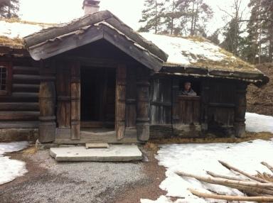 Ancient Norwegian building