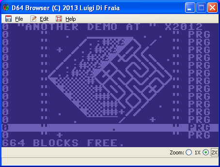 D64 browser by Luigi Di Fraia
