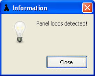 Panel loop detection in Integrator 2012 by Luigi Di Fraia