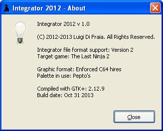Integrator 2012: release time by Luigi Di Fraia