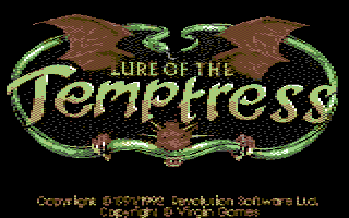 Lure of the Temptress: Logo dithered by Luigi Di Fraia