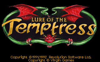 Lure of the Temptress: Logo