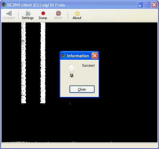 DC2N4 GUI client: success by Luigi Di Fraia