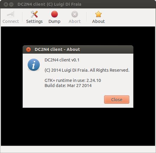 DC2N4 GUI Client Ubuntu 12 64-bit by Luigi Di Fraia