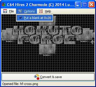 C64 Hires 2 Charmode new option