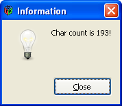 C64 Hires 2 Charmode - Count of chars