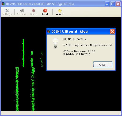 New DC2N4 USB serial GUI client