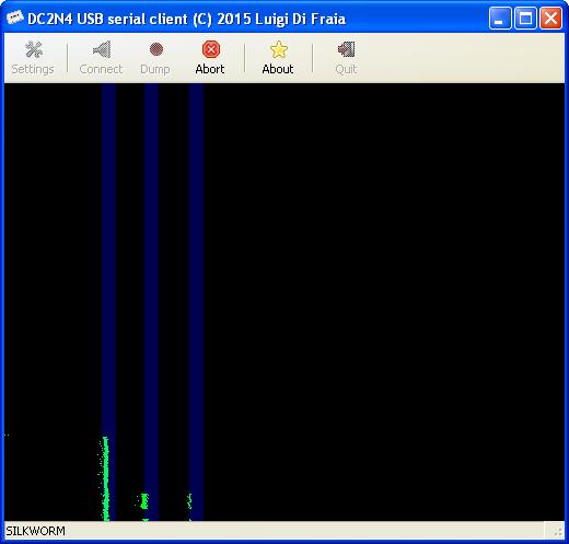 DC2N4 USB serial GUI client