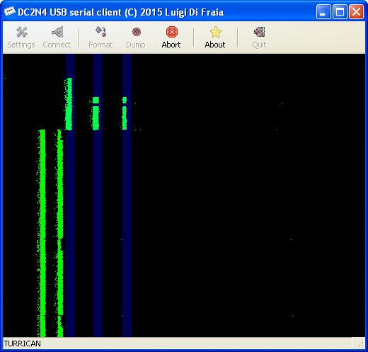 DC2N4 USB serial client