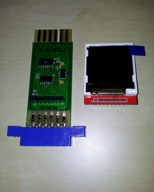 Tiny C2N Monitor fully assembled by Luigi Di Fraia