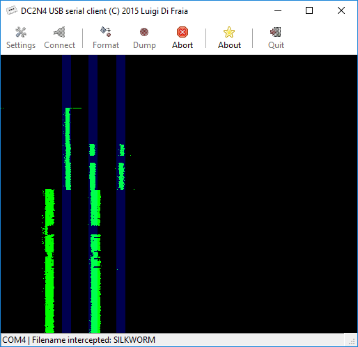 DC2N4 GUI client running under Windows 10 64-bits