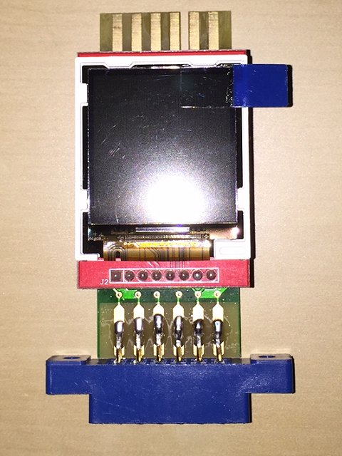 Tiny C2N Monitor fully assembled