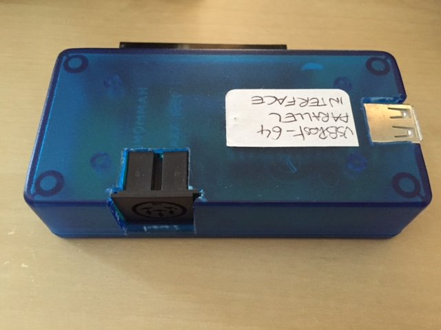 USBhost-64 prototype #3 (parallel transfer)