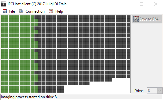 IECHost GUI Client under Windows 10 by Luigi Di Fraia