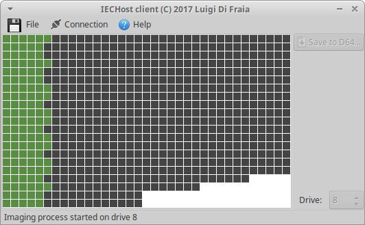 IECHost GUI Client under Ubuntu 16.04 by Luigi Di Fraia
