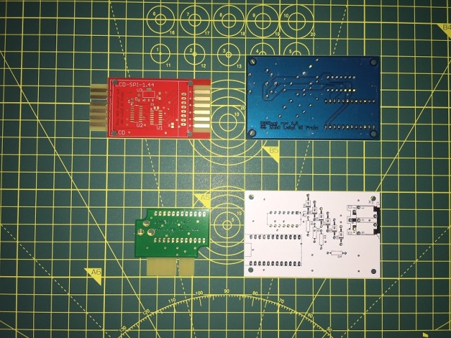 New PCBs for: DC2N4-LC, IECHost (2 versions), and Tiny C2N Monitor by Luigi Di Fraia