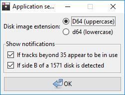 IECHost GUI client: application settings by Luigi Di Fraia