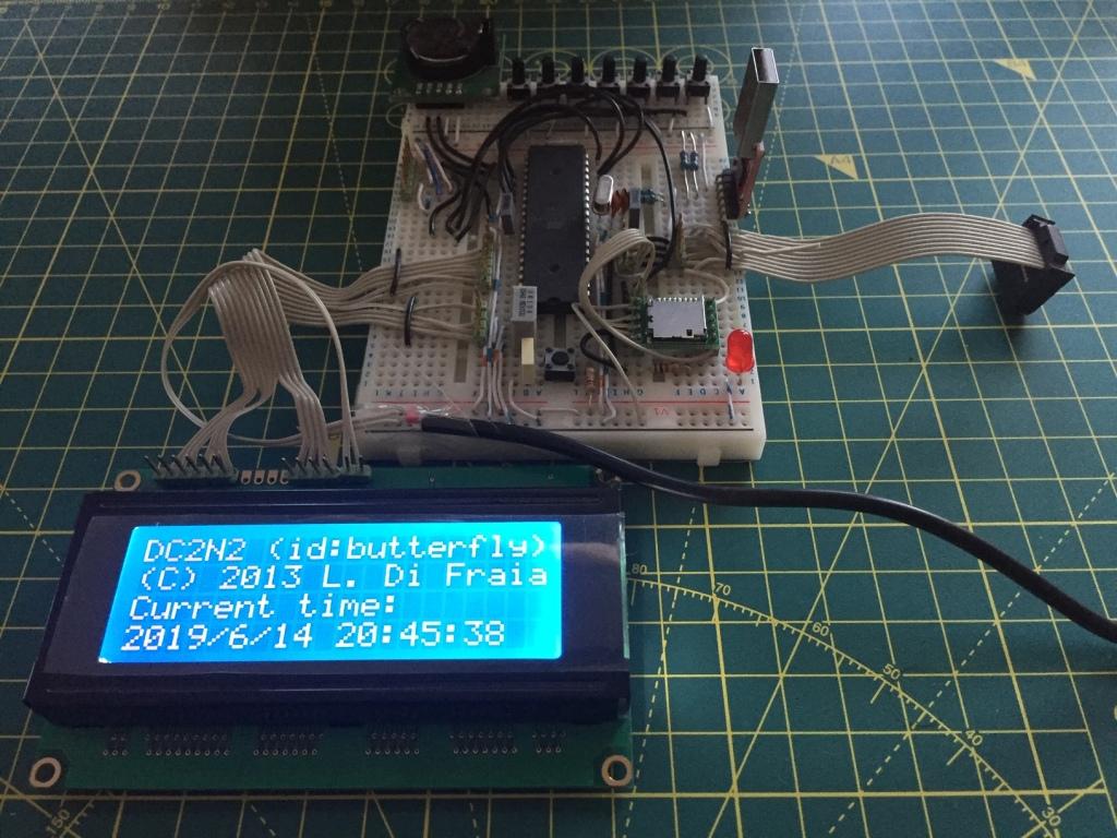 DC2N2 development board by Luigi Di Fraia