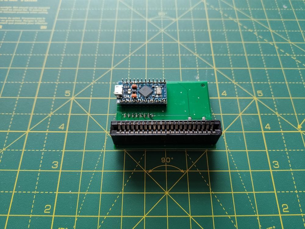C64 Cartridge Dumper: hardware version 2 by Luigi Di Fraia